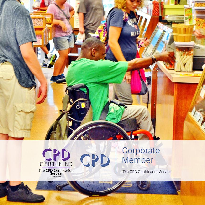Disability Awareness Courses - Online Training Courses - mandatory Compliance UK -