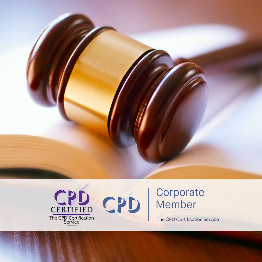 Online Health and Social Care Law Courses - Training Courses - Mandatory Compliance UK -