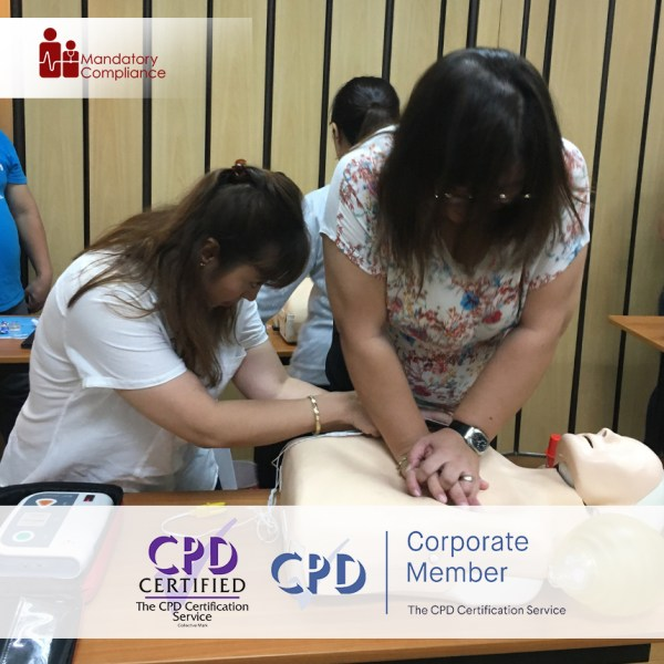 Basic Life Support – Online Training Course – CPD Accredited – Mandatory Compliance UK –