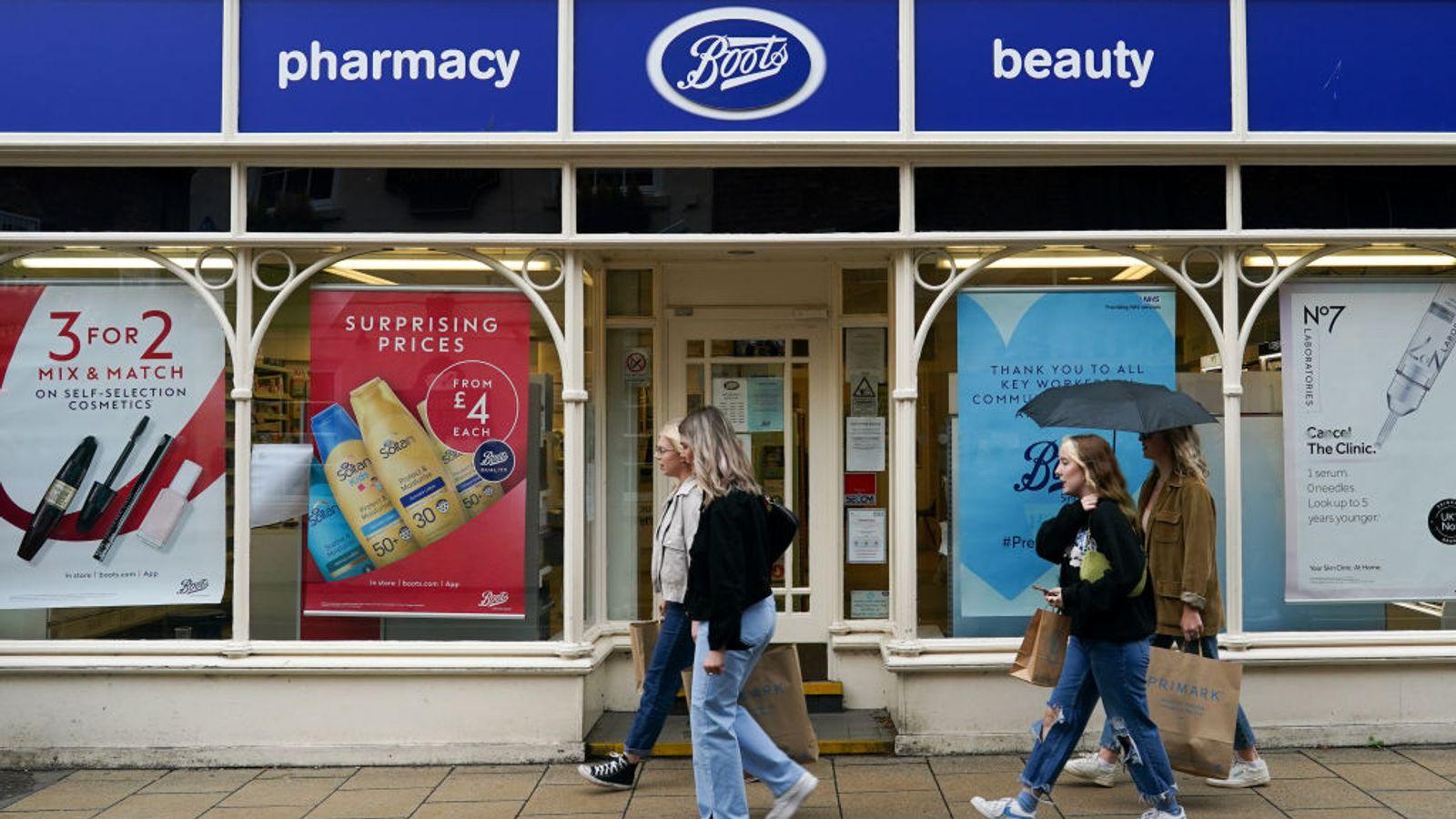 Coronavirus - Boots suspends flu jabs after 'unprecedented demand' - MTG UK 1
