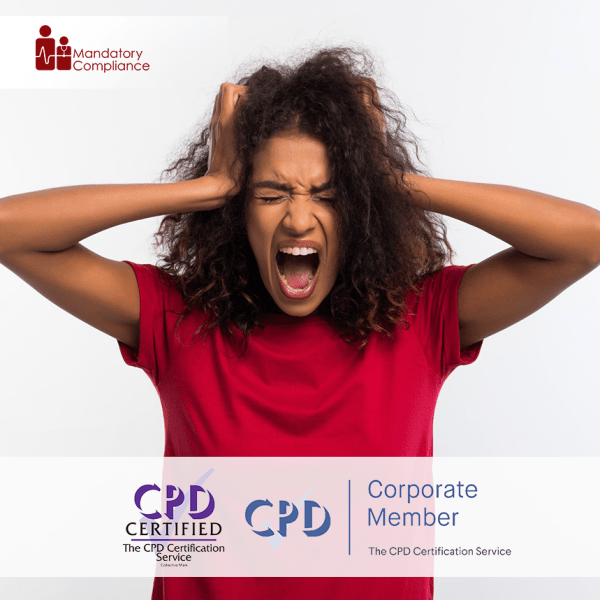 Depression Awareness – Online Training Course – CPD Accredited -Mandatory Compliance –