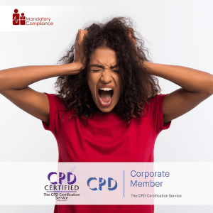 Depression Awareness - Online Training Course - CPD Accredited -Mandatory Compliance -