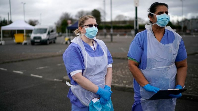 NHS staff testing 'dismantled' in virus hotspots - The Mandatory Training Group UK -