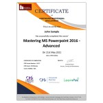 Mastering MS Powerpoint 2016 – Advanced – E-Learning Course – CPDUK Certified – Mandatory Compliance UK –