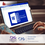 Mastering MS Word 2016 - Online Training Course - CPD Accredited -Mandatory Compliance -