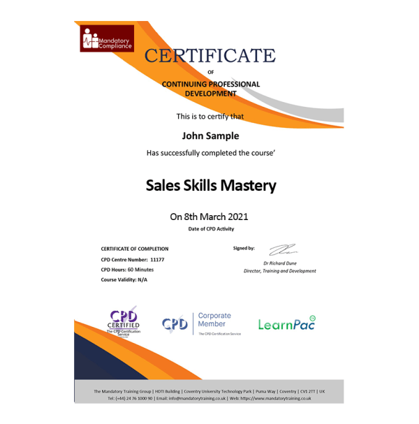 Sales-Skills-Mastery-eLearning-Course-CPD-Certified-Mandatory-Compliance-UK1-