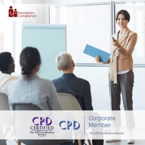 Mastering Employee Training and Development - Online Training Package - Mandatory Compliance UK -