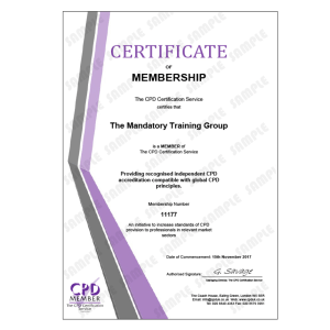 Principles of Weight Manage - CPDUK Accredited Certificate - Mandatory Compliance UK -