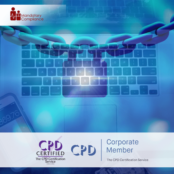 Cybersecurity and Data Protection – Online Training Package – Mandatory Compliance UK –