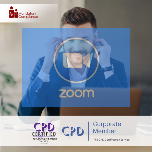 Leading Engaging Zoom Meetings – Online Training Course – CPD Accredited – Mandatory Compliance UK –