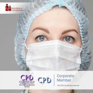 Donning and Doffing PPE for Care Workers - Online Training Course - CPD Accredited - Mandatory Compliance UK -