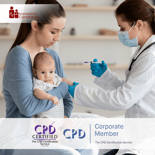 Paediatric First Aid Awareness – Online Training Package – CPDUK Accredited – The Mandatory Compliance UK –