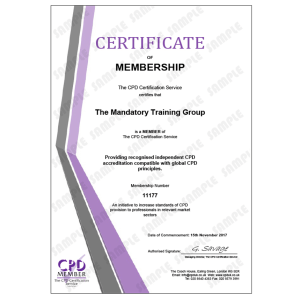 Dealing with a Mental Health Emergency - e-Trainer Pack - Online CPDUK Accredited Certificate - Mandatory Compliance UK -