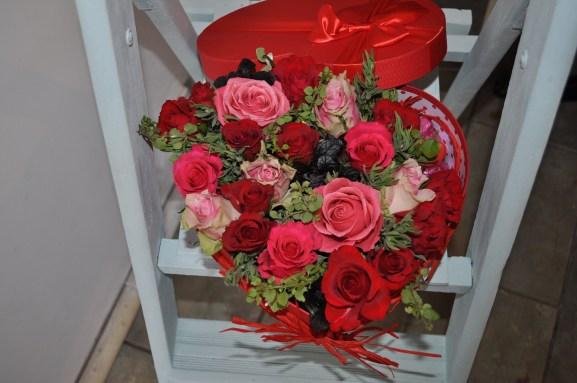 Heart-shaped Valentine's Box