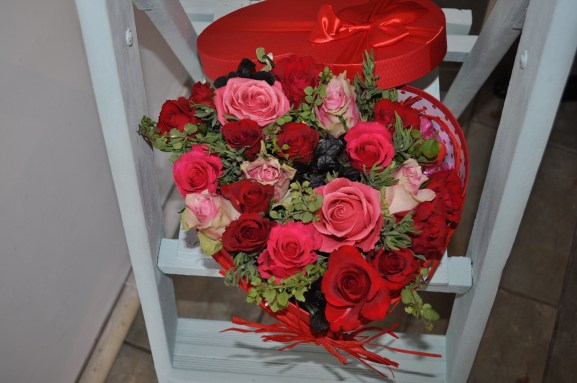 Heart-shaped Valentine's Box