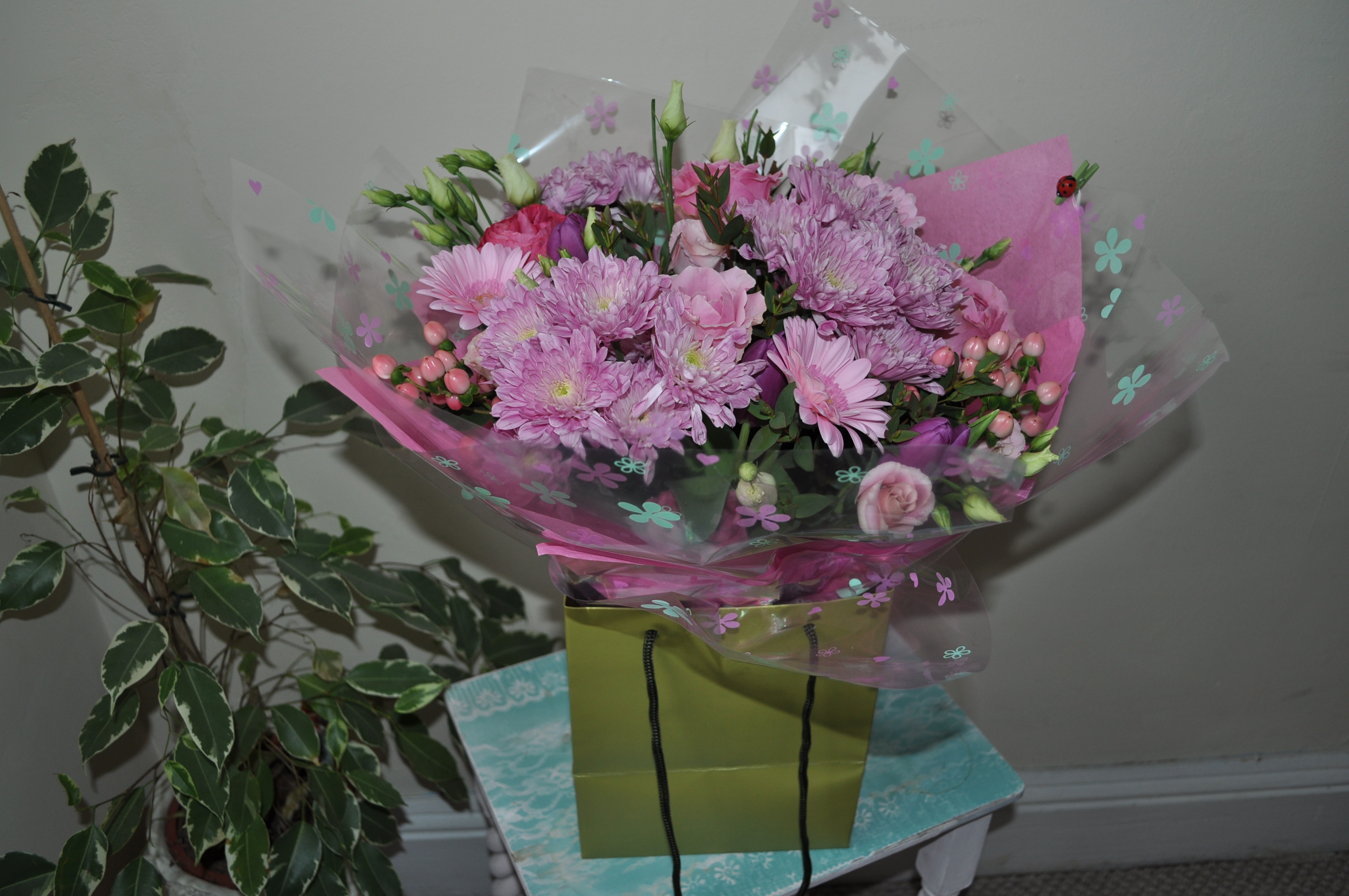 Hand-tied Pink Blossom
