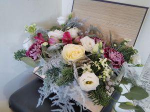 Christmas Flower Box
