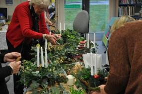 Christmas Table Decoration Workshop