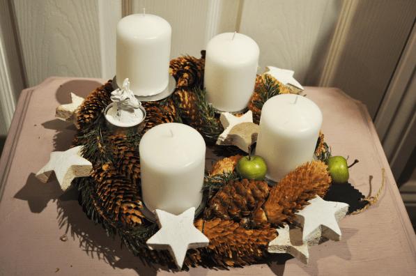 Christmas Table Display
