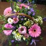 Gorgeous Flower basket