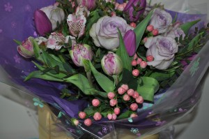 Mother's Day Hand-tied Flowers