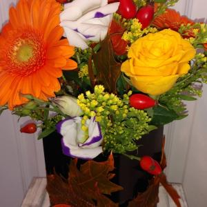 Autumnal Vase Arrangement