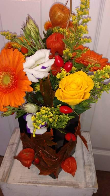 Autumnal Vase Arrangement