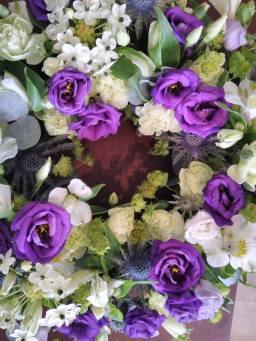 Loose wreath funeral