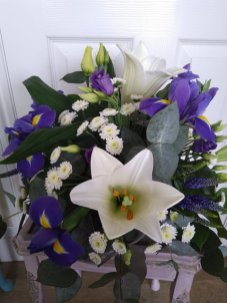 Funeral posy