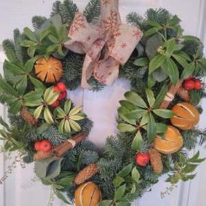 Christmas Heart Wreaths