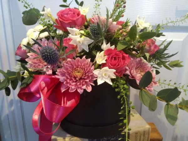 Mother's Day Flower Hat Box