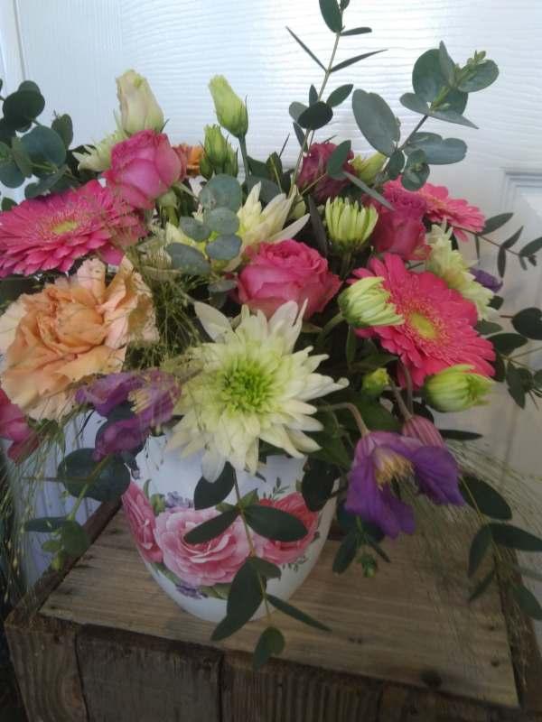 Mother's Day Pot Arrangement