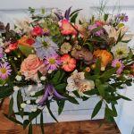 Summer garden arrangement