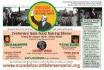 Mandela Gala Dinner 6.30pm – 12.30am Glasgow Hilton Hotel