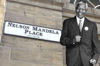 Nelson Mandela Place Glasgow