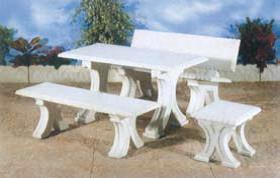 Tavolo e panche cls