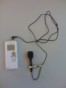 Olympus WS-321M voice recorder