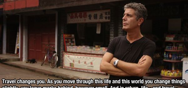 Bourdain's Legacy Was Seeing Humanity