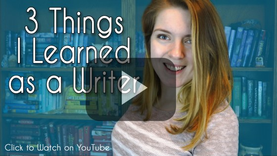 3 things I learned as a writer Shaelin Bishop