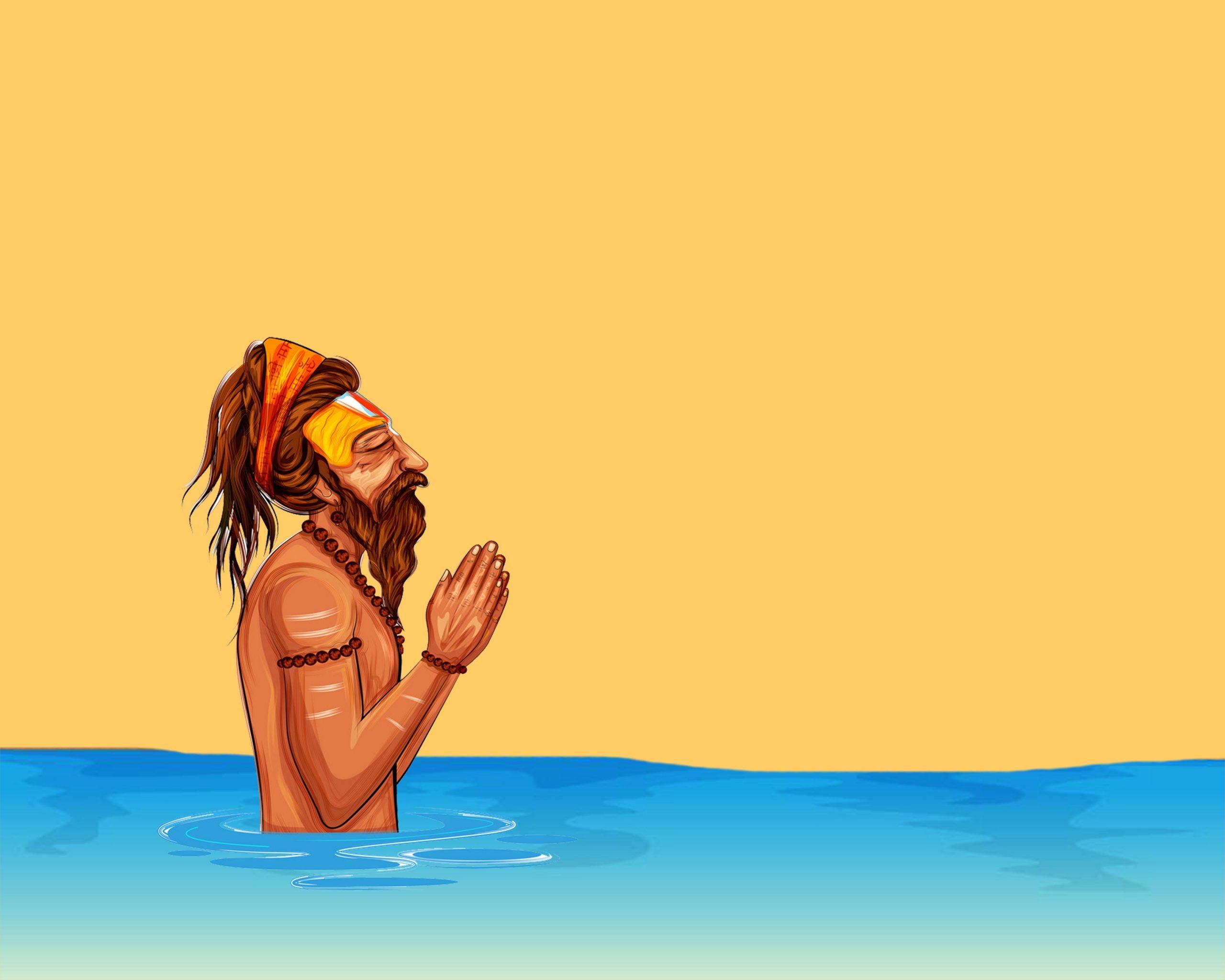 Sadhu ji Namaste
