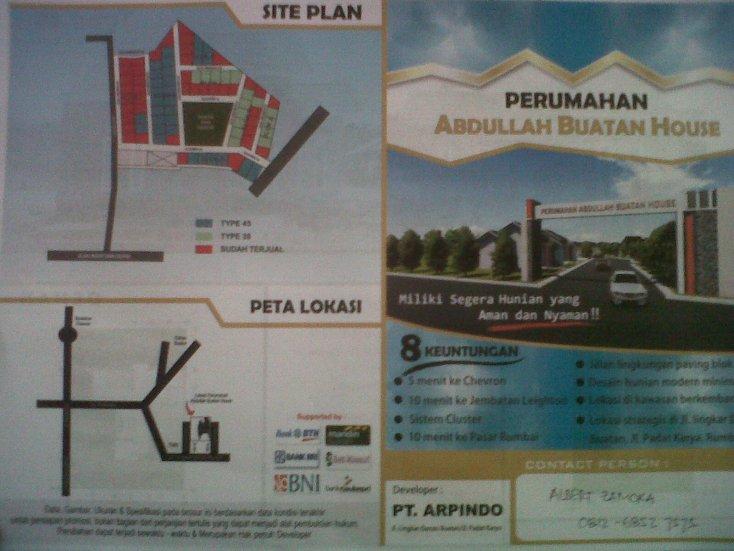 Abdullah Buatan House (cluster)