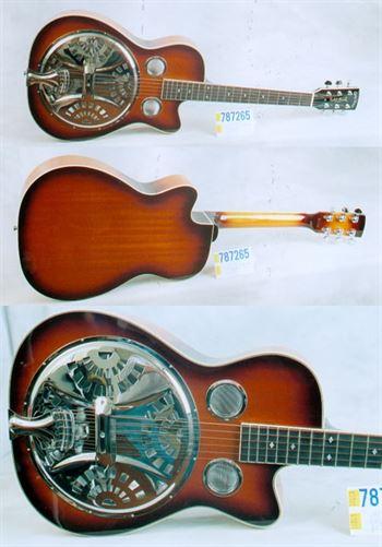 Gold Tone New PBR Paul Beard Roundneck Cutaway Mandolin Brothers Ltd