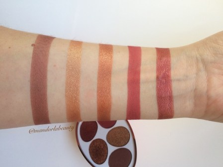 swatches ombretti