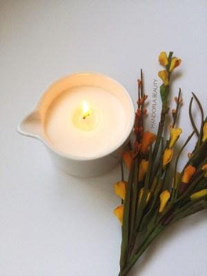 candela accesa