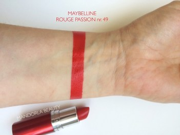 swatch maybelline