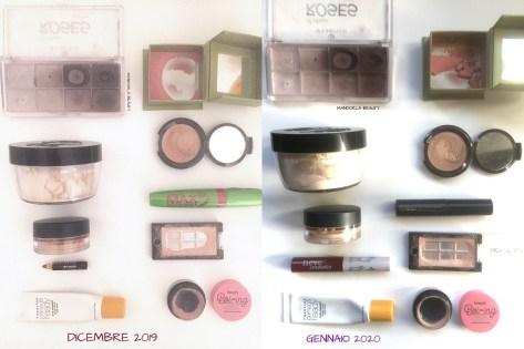 smaltimento makeup gennaio