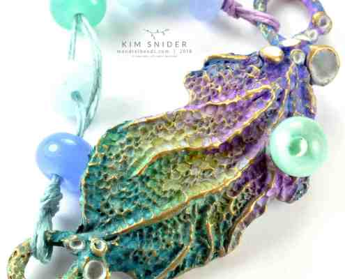 Ombré Sea Fan Focal : Oceans Collection