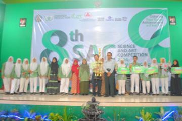 MTsN Jetis Juara Umum SAC VIII tahun 2016