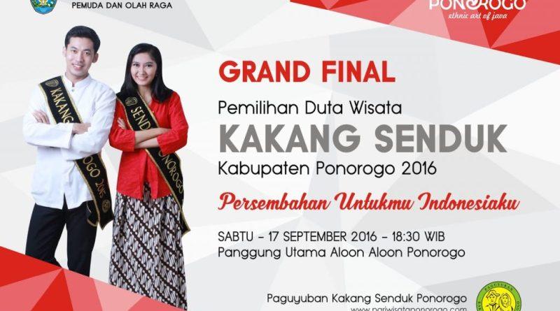 Grand Final Kakang Senduk Ponorogo 2016