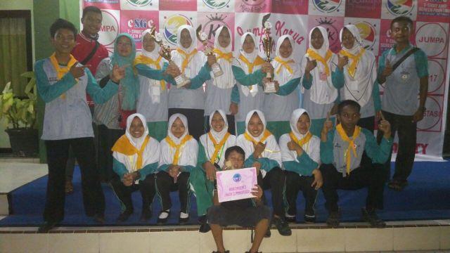 PMR WIRA MAN 2 Ponorogo Ikut Serta JKP 2017 se-Jawa Timur